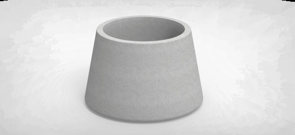 BIORA 80 Cast Stone Planter