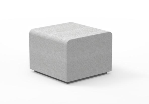 Lancer Bloc 600 Cast Stone Seat