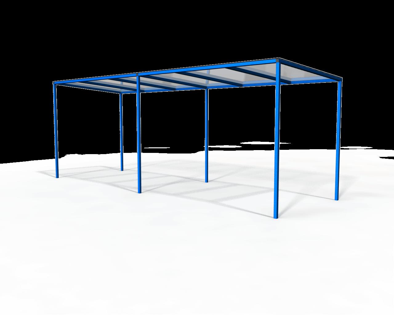 Bristol Mono Pitch Canopy/Walkway - Economy module