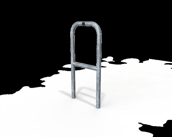 Door protection barrier - 500mm wide with cross bar