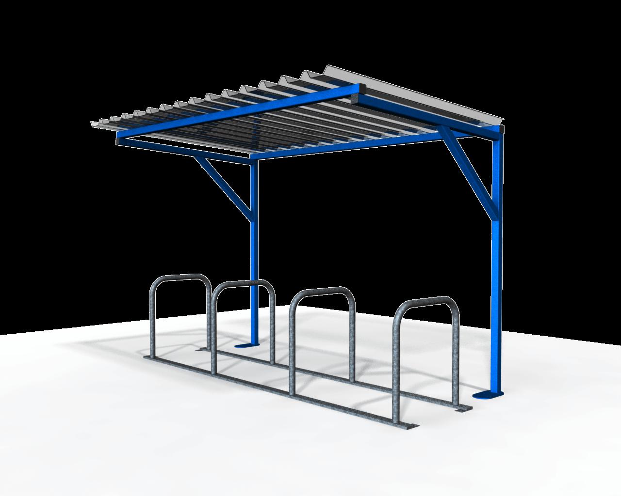 Morecambe Cycle Shelter - 8 No. Capacity