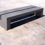 Hungaro 295 Cast Stone Bench